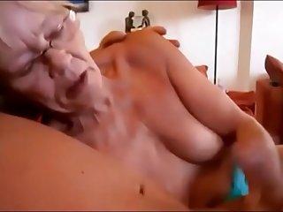 Granny Giving Handjob till..