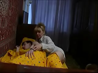 Blonde Russian Mom cam