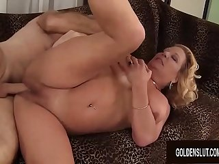 Blonde GILF Karen Summers..