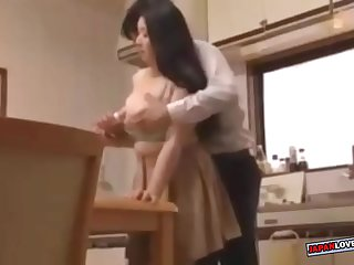 pervert son tries to fuck..