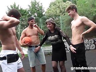 Horny Granny Fucks..