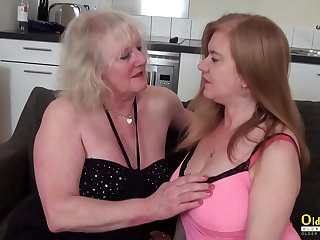 OldNannY Two mature Lesbians..