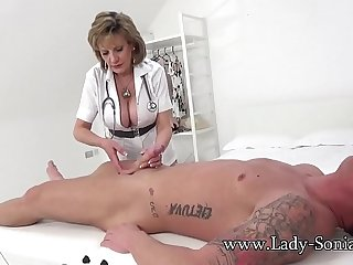 Lady Sonia gives a massage..