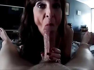 Mature worship big cock