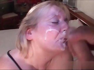 Hot Granny Taking a Big Load..