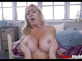 Blonde MILF Step Mom With A..