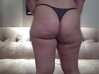PAWG in Thong Panties Hot..