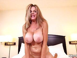 MomPov big tits slutty..