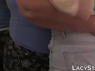 Hot lesbian granny sucking..