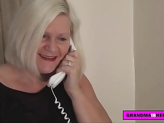 visting a grandmother