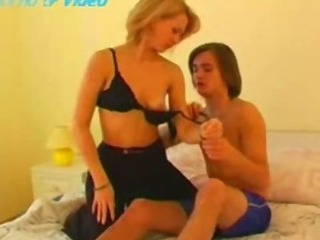 Hot blondie mom fucked with..