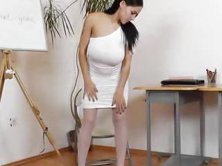 Eager housewife teacher..