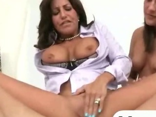 Mature stepmom asshole..