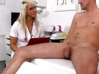 Marketa a naughty nurse milf..