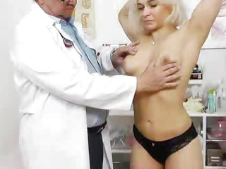 Amazing blonde wife gets her..