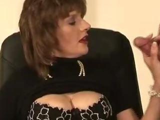 Mature british slut tied up..