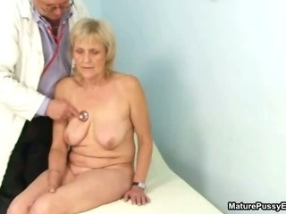 Grandma gets a full body..