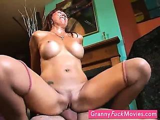 Nasty grandmother gets..