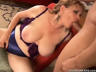 Beautiful big tits MILF..