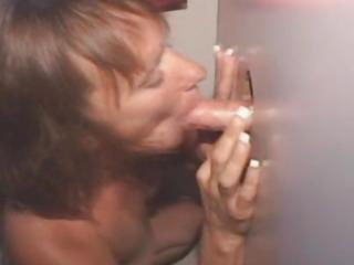 Mature Amateur Slut Smoking..