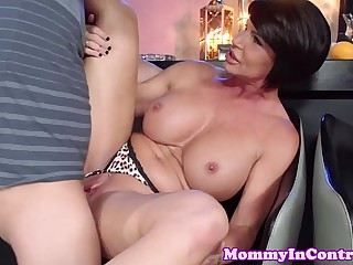 Tattooed busty milf Shay Fox..