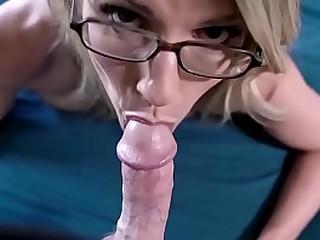Blonde stepmother taking..