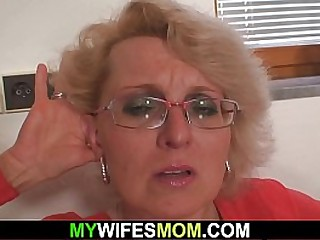 Angry wife finds out mom and..