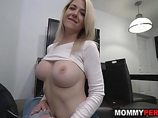 My hot mom blows me while im..