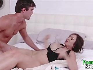Pervy Mommy fullied by Son