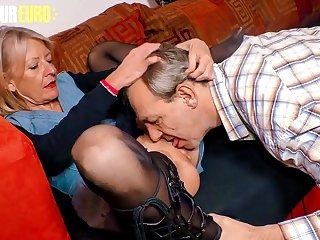 AMATEUR EURO  German Granny..