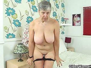An older woman means fun..