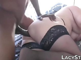 GILF Lacey Starr in hardcore..