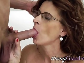 Spex gilf getting jizzed