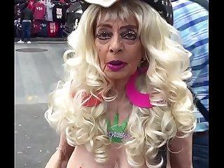 The coolest grandma I met..